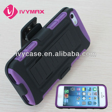 Robot Design PC+silicone Case for iphone 5