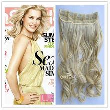 "Popular one piece Hair extensions, 125g/pc, 22"" length long Hair"