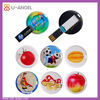 usb sticks with epoxy label,bulk 2gb circle card usb