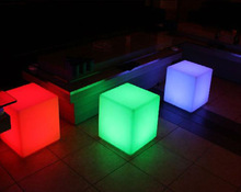 LED casino stool