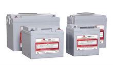 Nano silicon gel lead acid rechargeable battery storage 12V120AH full GELVRLA battery power supply solar system telecom battery