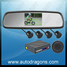 Car Rear View Mirror Backup Parking Sensors