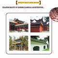chinois traditionnel de haute qualité mais à bas prix tuile vitrée pour la vente