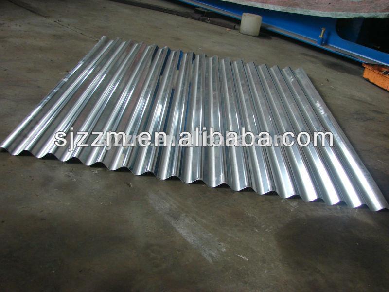 Heat resistant metal roofing sheet