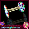 2013 fancy glow musical fantasy double spinner windmill new kids light toys ZH0906655
