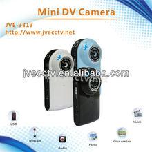 JVE-3313 720*480 3.0 mega pixel camera dv car/video voice recorder /video audio camera