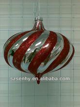 new model christmas ball with beautiful pattern