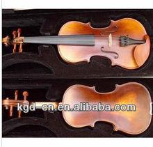 Antigo Satin violino com caso