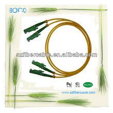 Low insertion loss yellow colour E2000 sma fiber optical patch cord