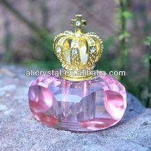 Exotic wedding gift crystal perfume bottle