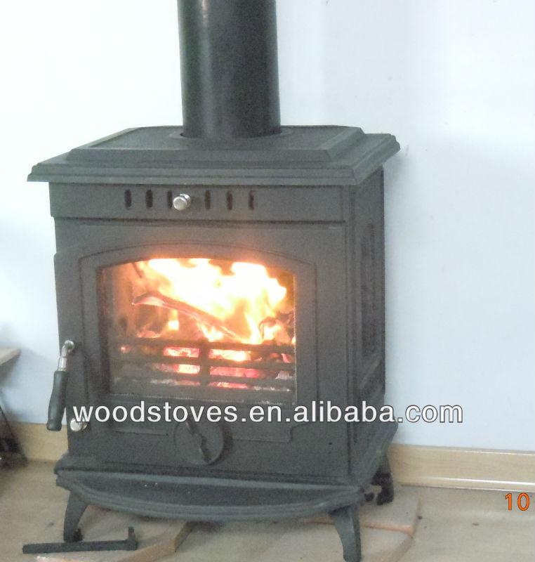 Estufa de le a chimenea de hierro fundido peque a estufa - Estufas de lena de hierro ...