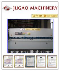 JUGAO Metal sheet QC12Y-55X4000 hydraulic shearing guillotine shear