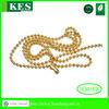 Gold palladium chain,chastity chains,ball chain link bracelet
