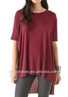 Loose Korea T Shirt Casual Clothes Custom Blouse Plus Fat Women Clothing 2014 Fashion