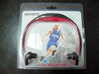 Well-Share 2gb headset sports music mp3 wireless neckband mp3 player
