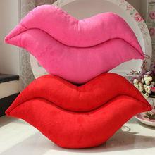 new design plush toy lip shaped pillow