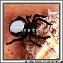 eco-friendly gadgets plastic small solar toys solar insect solar spider toys for kids toys for children 2012