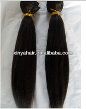 Full cuticle virgin European human hair extensions children