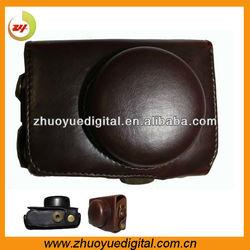 Pu leather camera case,custom leather camera cases,leather camera bag for Panasonic Lumix GF3