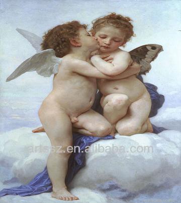 картины ангелы маслом:
