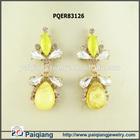 Diamond ear tops 2014 trend jewelry earrings