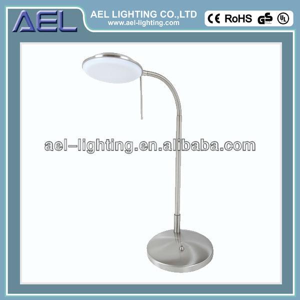 Placage laiton antique/finition 6w lampe de table/lampe/d'éclairage. avec tuyau flexible