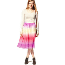 sunny Sequin 2013 summer fashion skirts knee length,designer one piece party dress