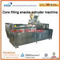 Núcleo relleno de alimentos snacks línea de procesamiento/jam centro máquinas de snacks