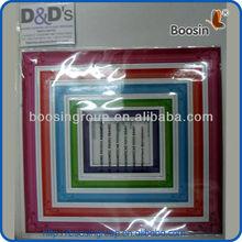 Multicolor Rainbow magic magnet photo frame for art