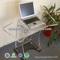 Forte mesa de acrílico para computador