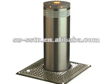 2012 new style A3 steel mooring parking road bollard with LED light