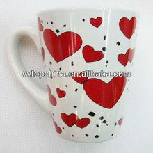 valentine day ceramic mug, mugs gifts valentine day