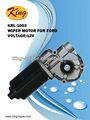 Zd1003 motor del limpiaparabrisas para ford, 12v motor de corriente continua