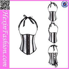 Wholesale black slim corset night wear