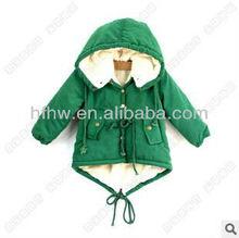 2012 WINTER EUROPEAN STYLE FASHION CHILDREN'S LONG SLEEVE WARM COTTON COATS