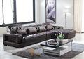 De couro de grau superior L forma sofá secional