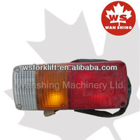 Rear combination lamp in forklift