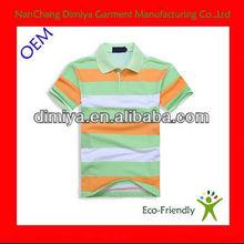 cheap striped polo shirts / cotton mix spandex polo t shirt / casual mens short sleeve polo t shirt
