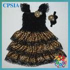 Princess wedding dress new design lace chiffon satin smocked toddler dresses
