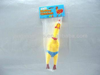 joke shrilling chicken toy