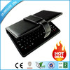 hot sale OEM 10.1 tablet leather case with keyboard with CE ROSH ISO Certificate
