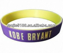 100% Synthetic Embossed Silicone Wristband, Suitable for Promotion, Fund Raising and Organization
