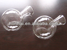hgh quality mouth blown clear glass christmas ball