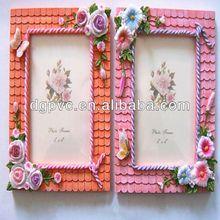 photo frame magnet fridge ,fruit picture frame, flower picture/frame