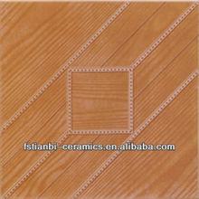 300x300 wood plank look ceramic stair tiles
