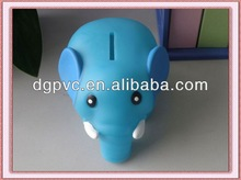 money box silicone ,plastic cheap money box, plastic pig shaped money box