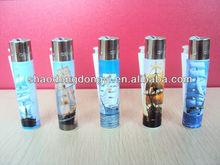 disposable flint lighter like Spanish boat lighters