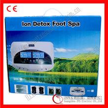 New fashion dual ion detox foot spa health device