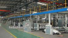 High speed cardboard production line of Shengli company