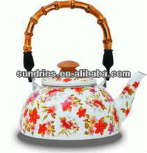 TeaPot With Bamboo Handle
